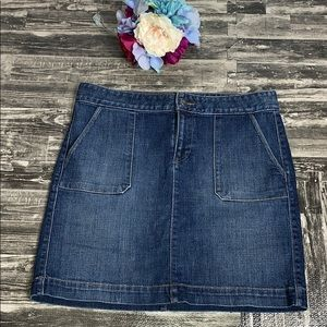 Ann Taylor denim skirt